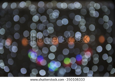 Blurry background circles - christmas lights background