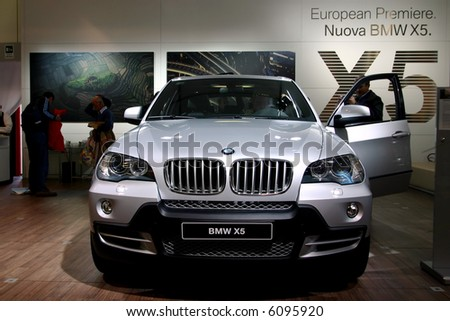 BMW X5 at Motorshow Bologna 2006