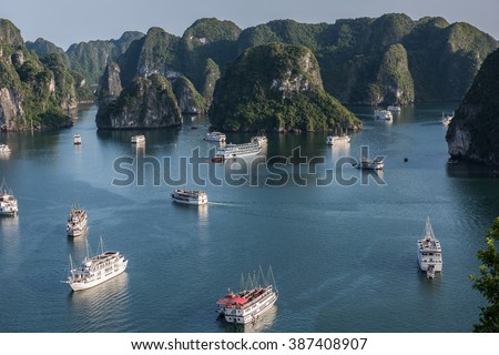 Boat Cruising in Vietnam