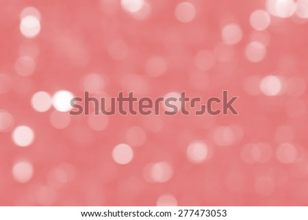 Bokeh background with defocused lights