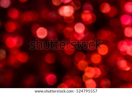 bokeh for holiday