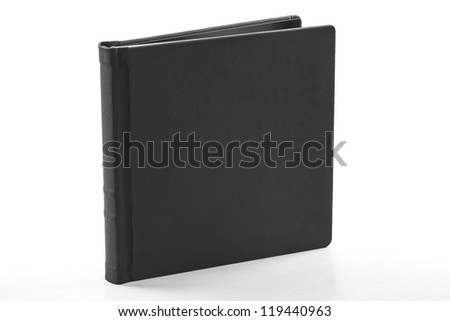 book  black leather