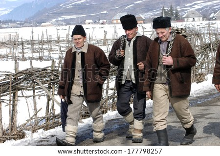 Borsa romania january 7 unidentified villagers in a traditional clothes participating at a - Traditional style wedding romania ...