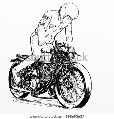 cb750 chopper wiring with Cafe Racer Motorcycles on Simple Motorcycle Wiring Harness further Basic Wiring Diagram Harley Davidson further Motorcycle Diagram Fork in addition 79 Sportster Wiring Diagram furthermore 1971 Honda Sl70 Wiring Diagram.
