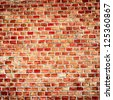 Brick wall background or texture - stock photo