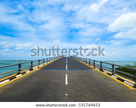Bridge on a Causeway Road