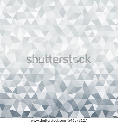 polygon background silver color vector illustration stock vector  bright background for greeting cards polygon background silver color raster illustration square banner