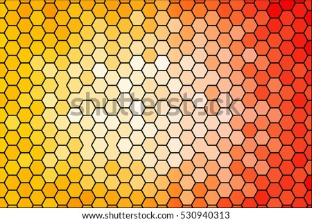 mix color polygon brick wall polygon stock vector  bright background for greeting cards polygon background yellow red color hexagon raster copy