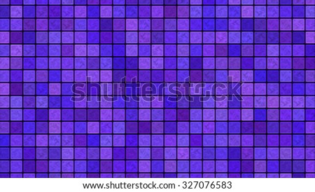 Bright Colorful Tiles Background Illustration - Purple