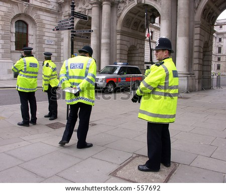 British policemen