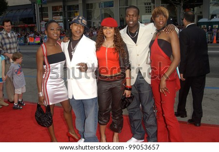 British pop group BIG BROVAS at the world premiere, in Hollywood, of Scooby-Doo 2: Monsters Unleashed. March 20, 2004