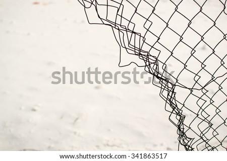 broken fence warning announcement - photo #31