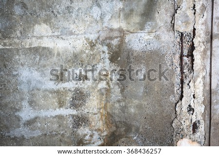 Broken concrete wall texture