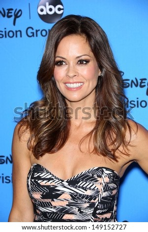 Brooke Burke-Charvet at the Disney/ABC Summer 2013 TCA Press Tour, Beverly Hilton, Beverly Hills, CA 08-04-13