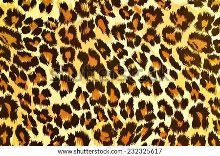 Leopard Print Skin Background Vector Stock Vector 431747524 ...