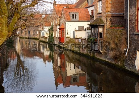 Bruges Network of waterways