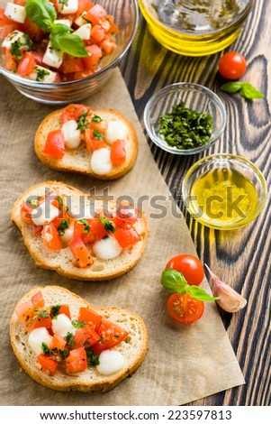 Fresh Vegetables Herbs Cooking Sauces White Stock Photo ...