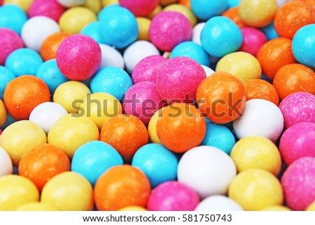 Chocolate coated candy chocolate pattern chocolate background - Mexican Kasarani Eggshell Confetti Stock Photo 401387311