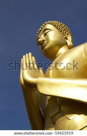 Buddha statue in Central Thailand