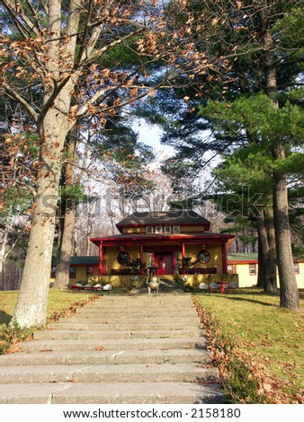 Buddhist Temple in the Upstate New York