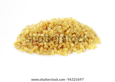 Bulgur - Healthy cereal food most common European and Middle Eastern cuisine