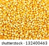 Bulk of corn grains - stock photo