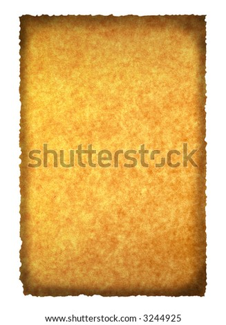 burned paper background for your messages and designs
