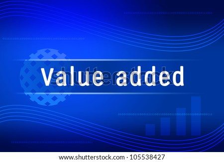 business background Value added