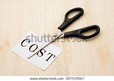 Business Concepts Budget Cut 스톡 사진 484113901 - Shutterstock