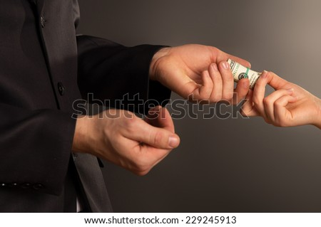 black woman bribe