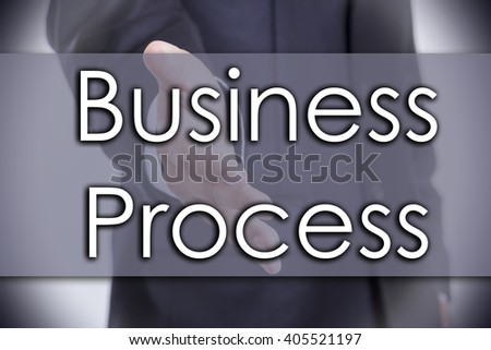 Business Process - business concept with text - horizontal image