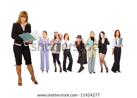 "business team with teamleader  - See similar images of this ""Business People"" series in my portfolio"
