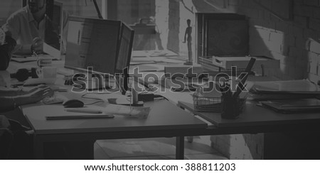 Business Team Working Workplace Office Concept