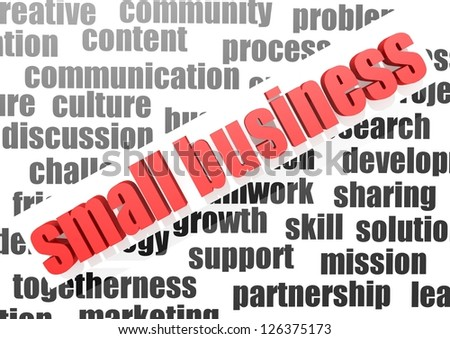 Business word of social business