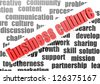 Business work of business culture - stock photo
