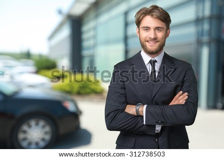 Businessman, manager, white collar