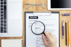 Free resume Stock Photos