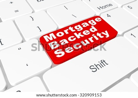 "Button ""Mortgage Backed Security"" on keyboard"
