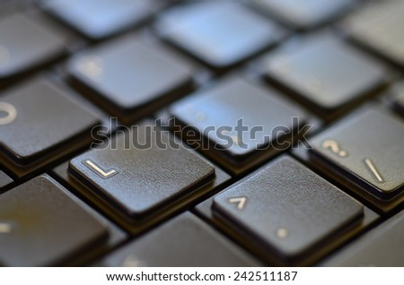 button of keyboard