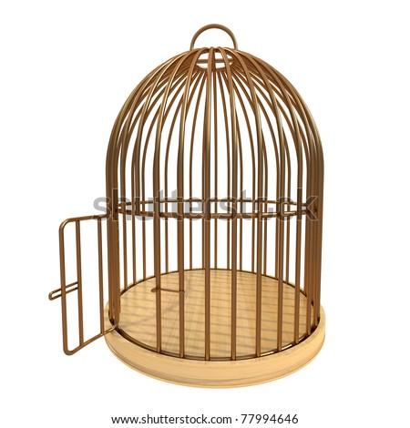 Vintage bird cage backgrounds