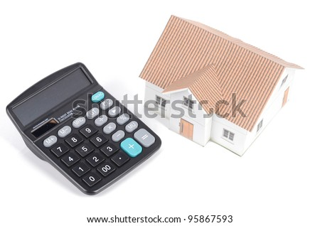 Calculator and model house