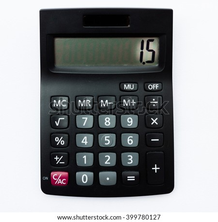 Calculator for calculate shift of mean from process capability ,