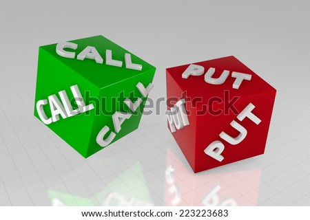 Call or put option trading