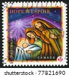 CANADA - CIRCA 2007: stamp printed by Canada, shows Holy Family, circa 2007 - stock photo