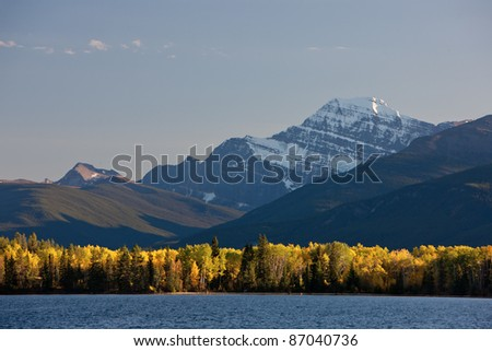 Canadian Rockies in the Fall