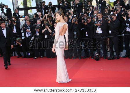 CANNES, FRANCE - MAY 18: Ana Beatriz Barros  attends the Premiere of 'Inside Out' during the 68th annual Cannes Film Festival on May 18, 2015 in Cannes, France.