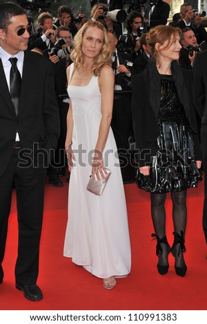 "CANNES, FRANCE - MAY 20, 2009: Robin Wright Penn at the premiere of ""Inglourious Basterds"" in competition at the 62nd Festival de Cannes."
