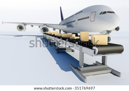 Cargo on the assembly line
