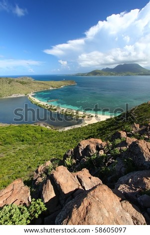 Caribbean island of Saint Kitts