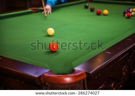 Carom Billiards Stock Photo 391855732